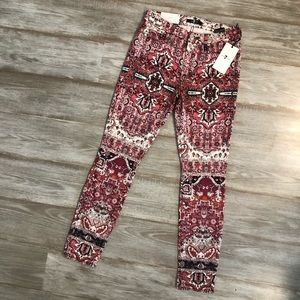 Brand new 7 for all mankind skinny jeans